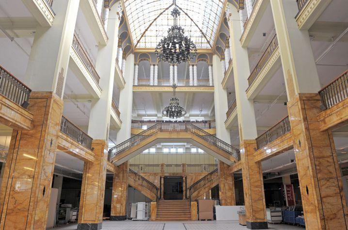 Leerstehendes Kaufhaus Görlitz (2010): Sanierung für rund 20 Millionen Euro