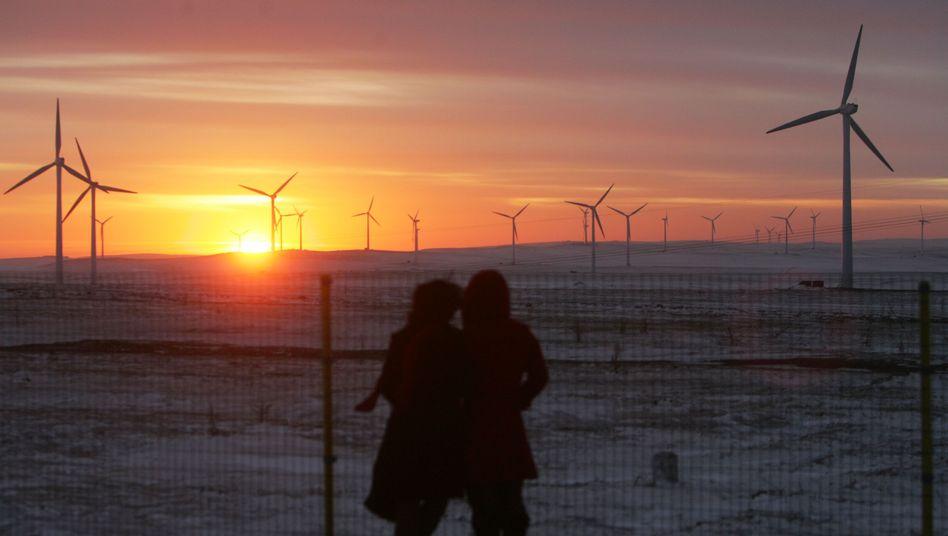 "Windräder in China (in der Inneren Mongolei, 2007): ""Kritik am CDM ist oft berechtigt"""