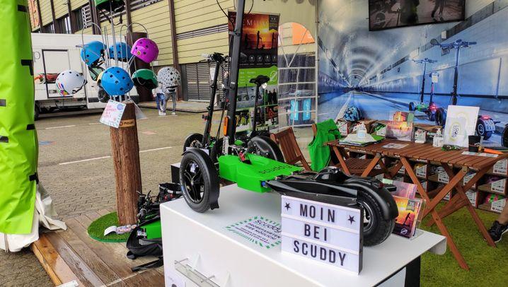 E-Scooter als Mobilitätslösung für Camper