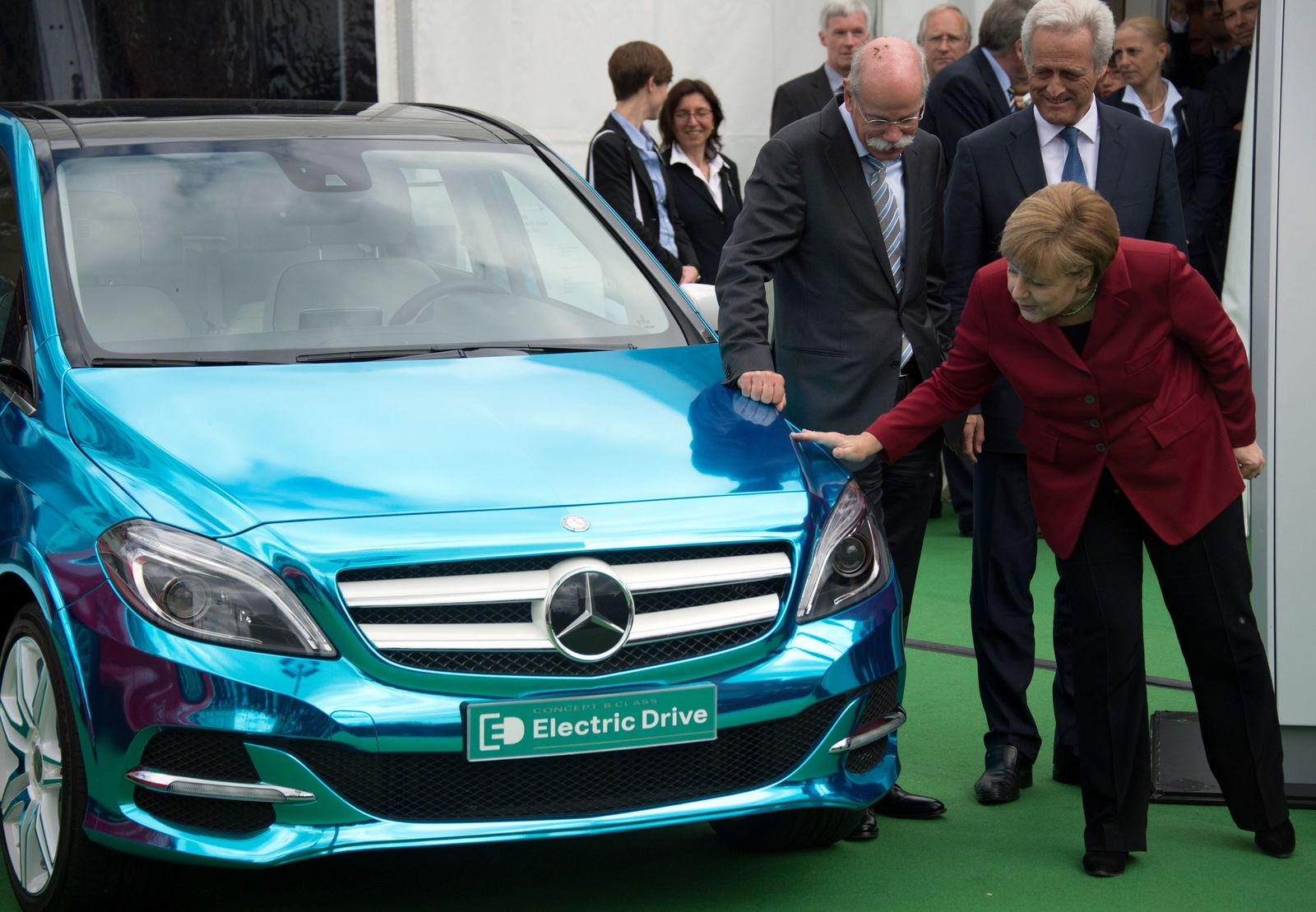 Merkel / Elektromobilität