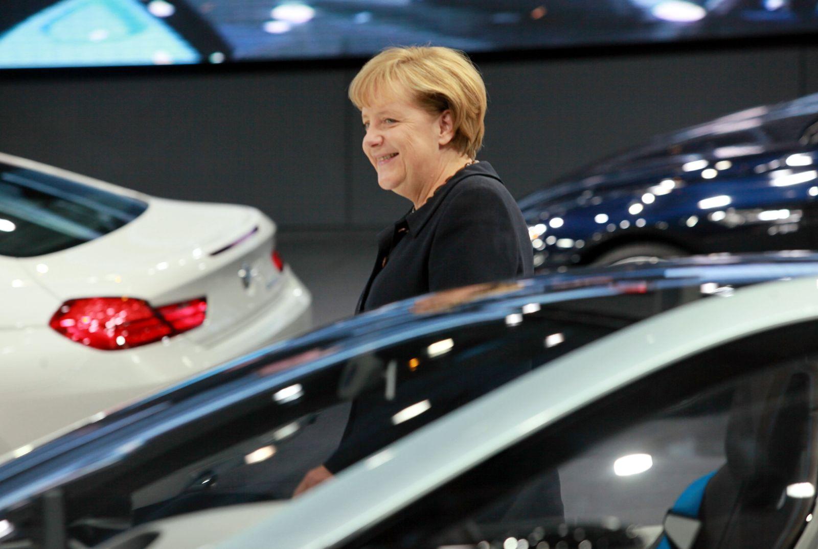 Merkel/ BMW