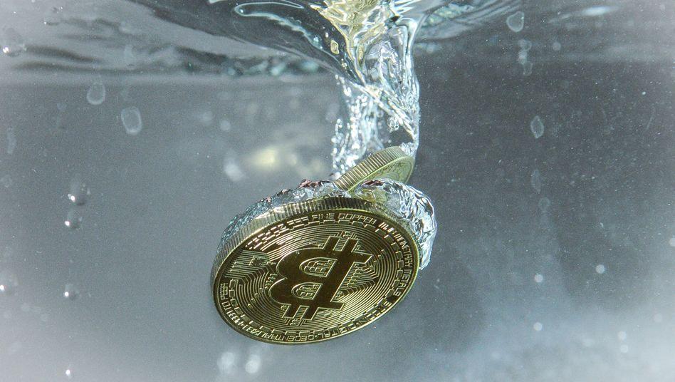 Bitcoin-Münze (Symbolbild)