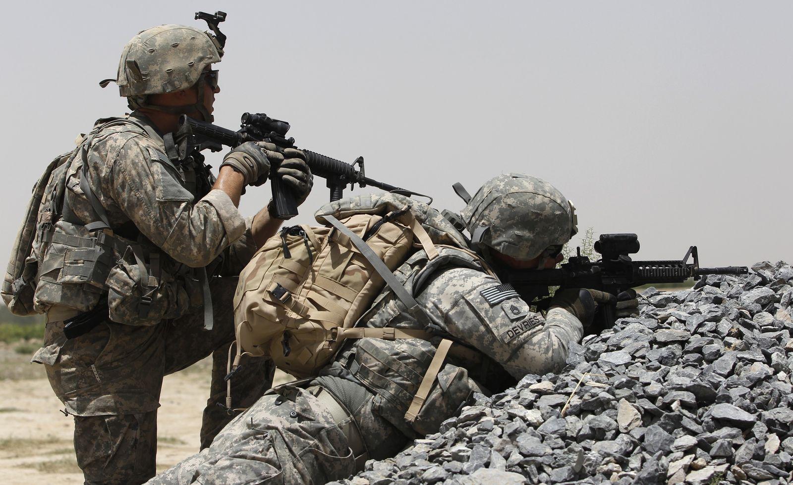US Soldaten Afghanistan