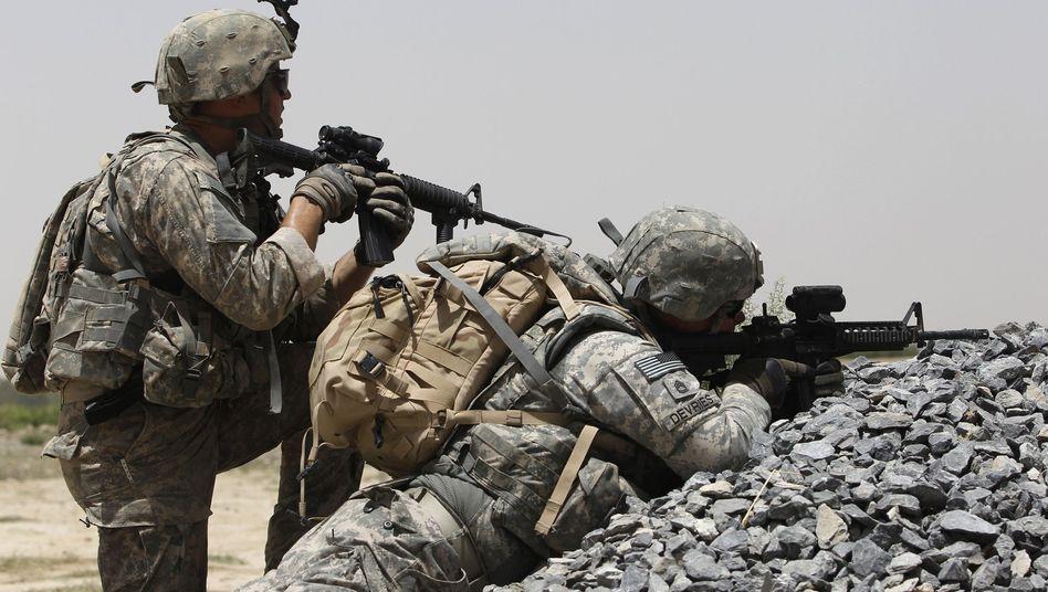 US-Soldaten in Afghanistan: Ein Kamerad packte aus