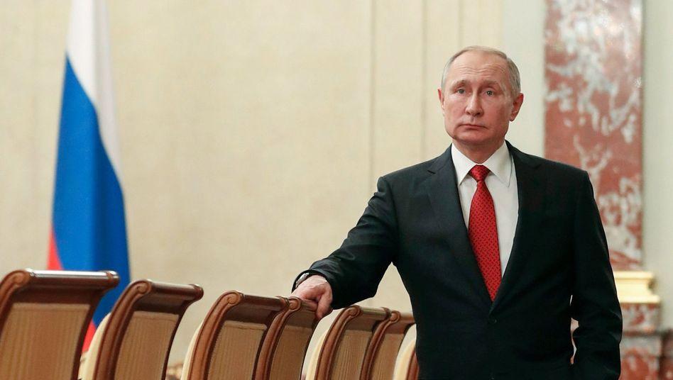 Wladimir Putin: Möglichst viele Möglichkeiten für die Zeit nach 2024 offenhalten
