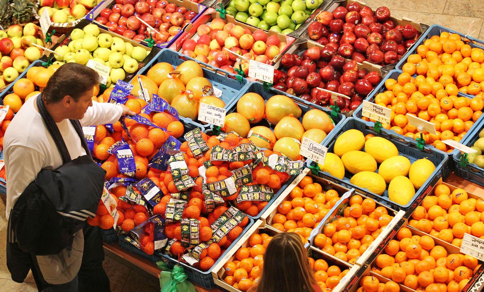 Lebensmittel / Supermarkt / Preise / preisschilder