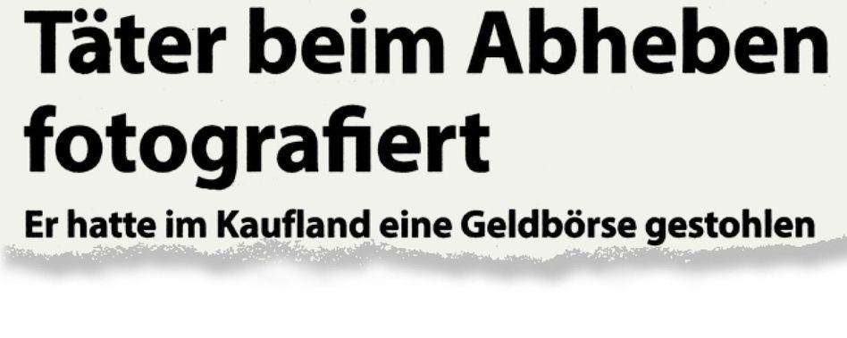 Aus dem Saarbrücker Anzeigenblatt »Die Woch«