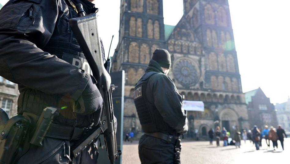 Terrorgefahr: Polizei warntvor gewaltbereiten Islamistenin Bremen
