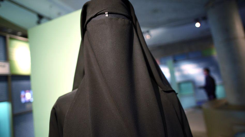 Frau in Burka (Archivbild)
