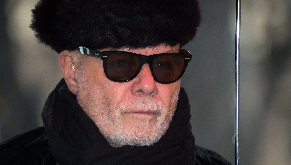 Gary Glitter vor dem Gericht in London: Schuldig wegen Missbrauch Minderjähriger