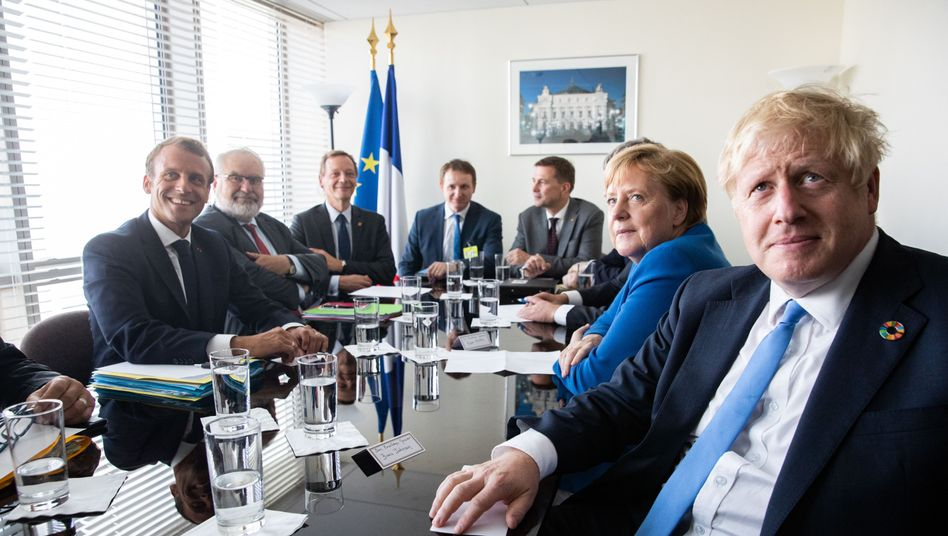 """Macron, Merkel, Johnson: """"Deutlich, dass der Iran die Verantwortung für diesen Angriff trägt"""""""