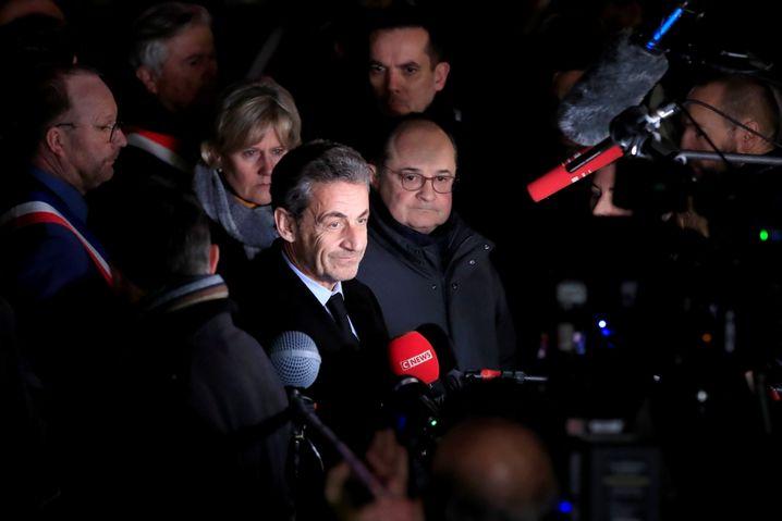 Nicolas Sarkozy in Paris