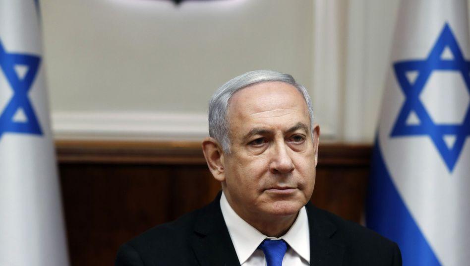 "Israels Ministerpräsident Benjamin Netanyahu (Archivbild): ""Großer Sieg"""