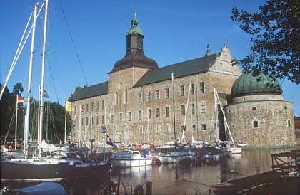 Im Auftrag des Schwedenkönigs Gustav Wasa erbaut: Das Schloss Vadstena