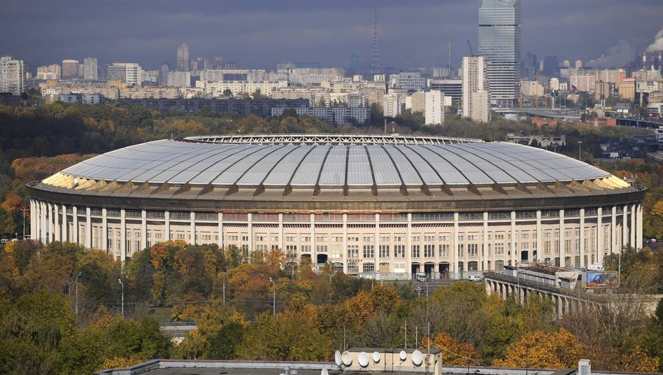 Luschniki-Stadion in Moskau: Schlechte Nachrichten für den russischen Fußball