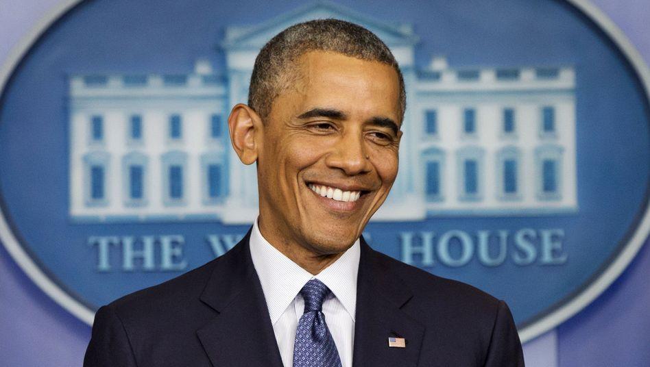 Noch-Präsident Barack Obama