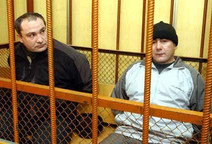 Ungereimtheiten bei ihrer Verurteilung: Krimschamchalow (l.), und Dekuschew
