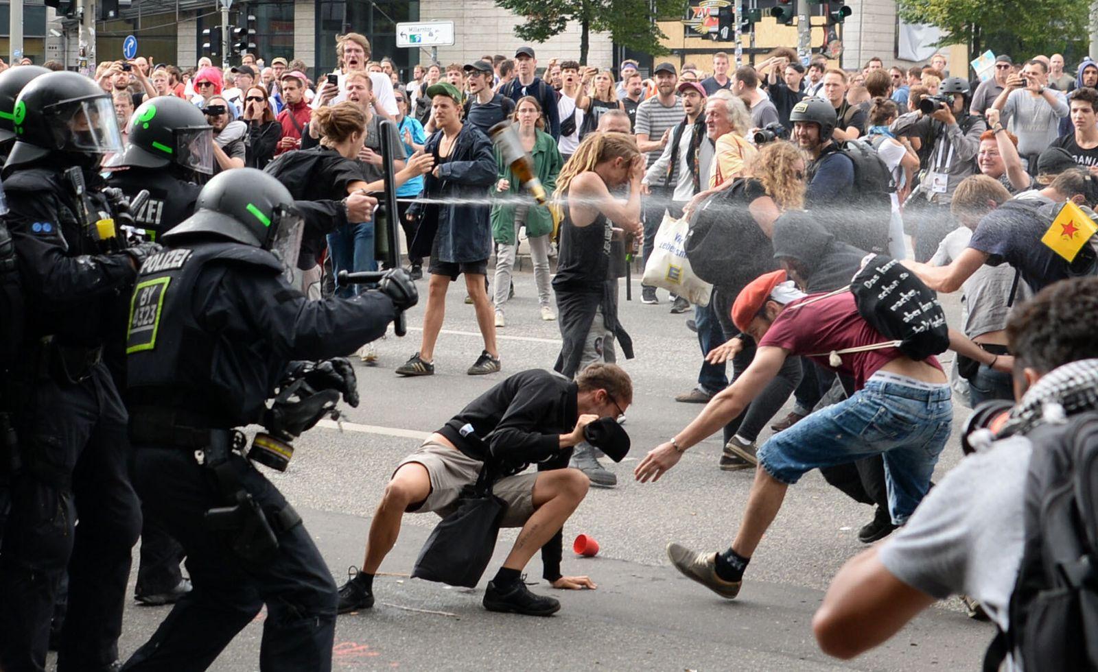 Polizei / G20 / Hamburg
