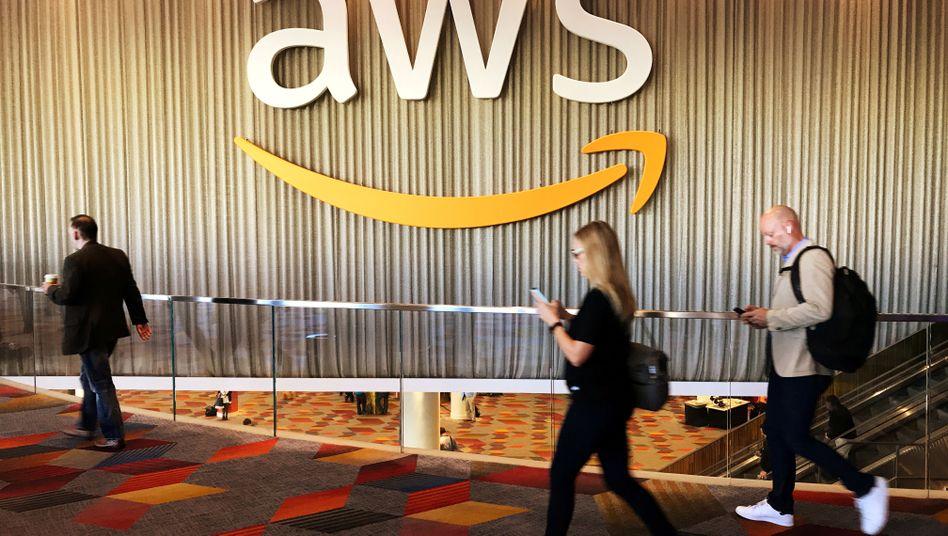 Das Logo des Dienstes, den Amazon gern auch für das US-Militär betreiben würde: Amazon Web Services