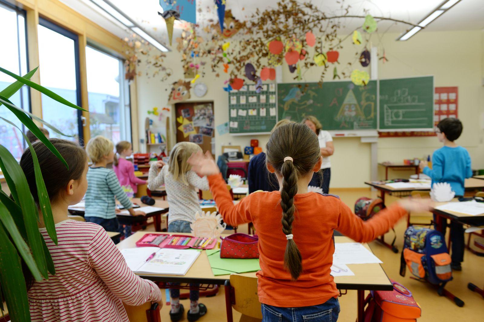 Grundschüler / Schule