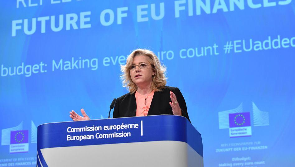 EU-Kommissarin Cretu