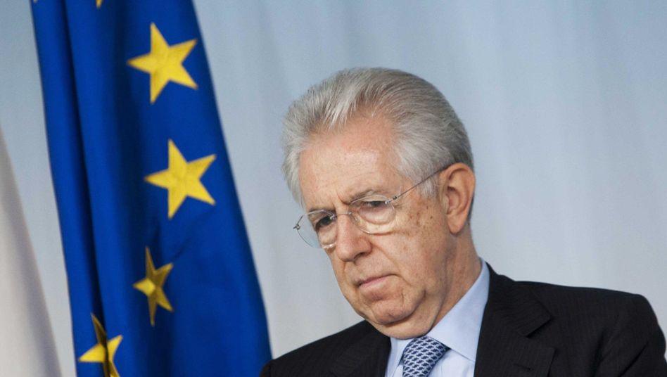 """Premier Monti (im Juli): Euro darf nicht zum """"Faktor des Auseinanderdriftens"""" werden"""