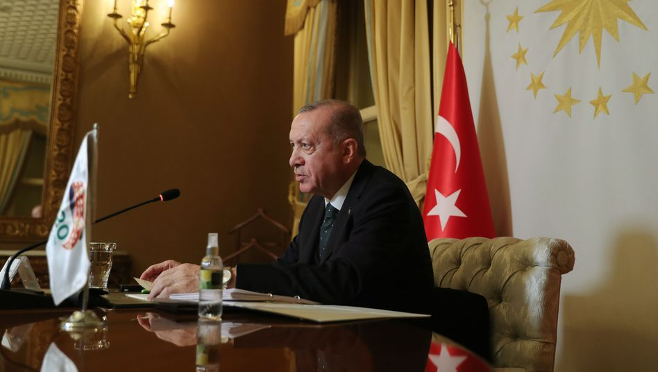 Präsident Erdoğan: Tiefgreifende Systemkrise
