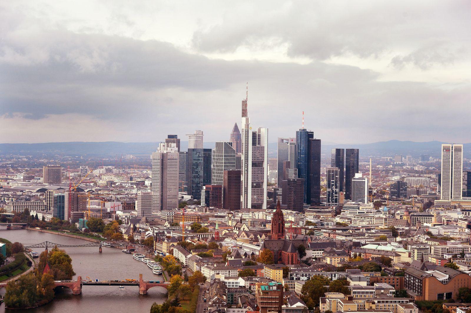 Frankfurt / Banken-Viertel / Banken / Stresstest