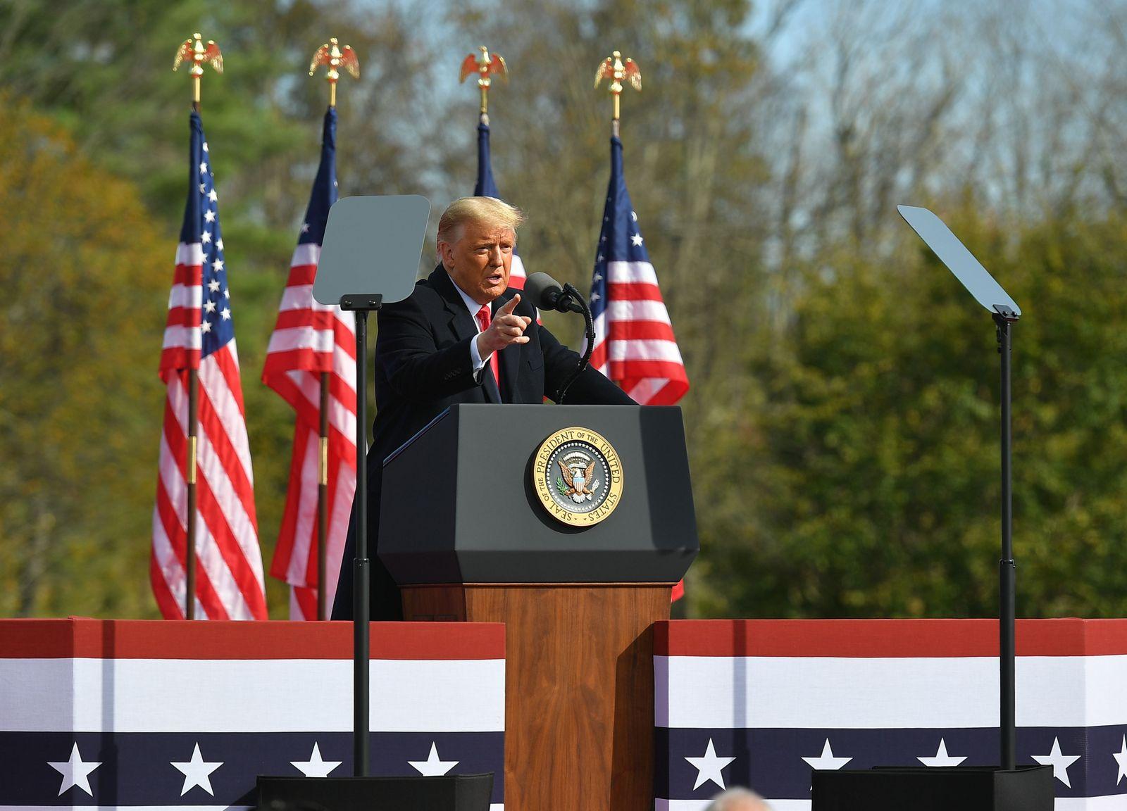 US-vote-Trump-RALLY-politics
