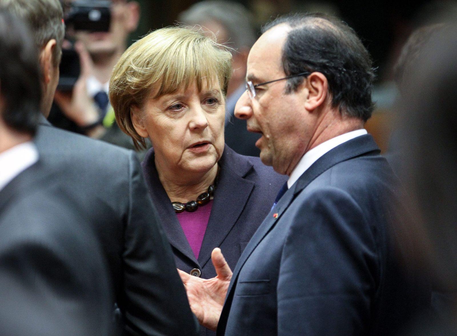 Merkel/ Hollande/ Brüssel