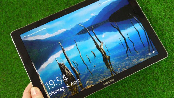 Samsungs Hybrid aus Notebook und Tablet: Das Galaxy Tab Pro S im Test