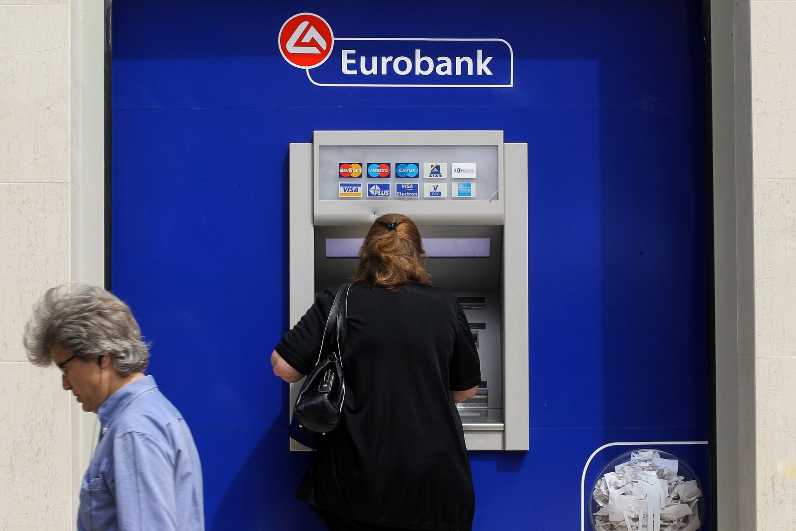 Griechenland / Bankautomat