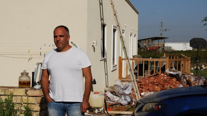 Raketenbeschuss in Israel: Volltreffer aufs Dach