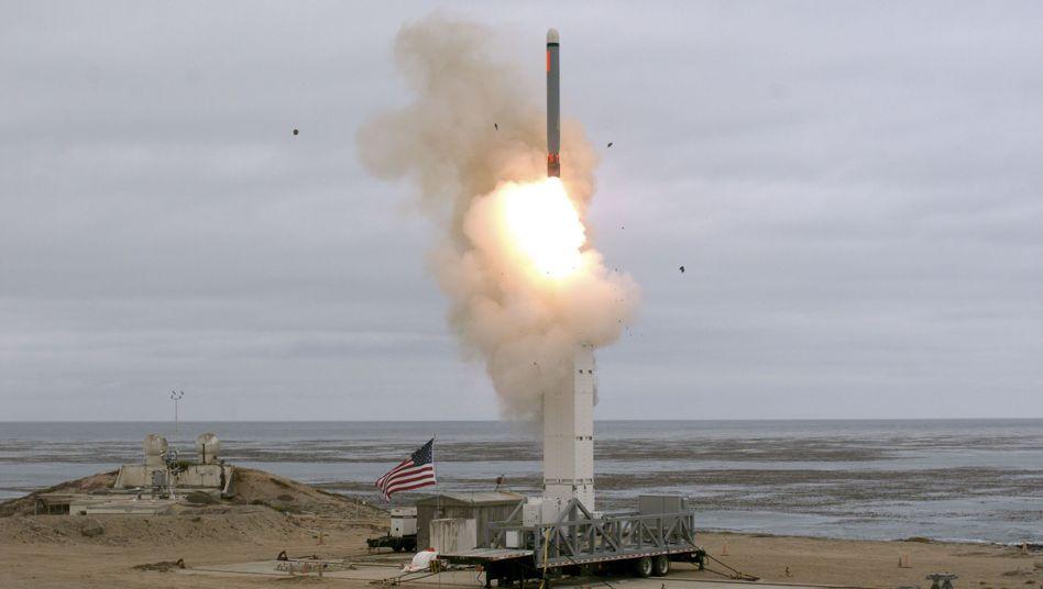 Eins der wichtigsten Abrüstungsabkommen ist nun offiziell Geschichte: Die USA testen einen Marschflugkörper