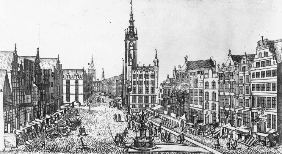 Hansestadt Danzig (um 1625): Wiederaufbau zum wichtigsten Handelsplatz der Region