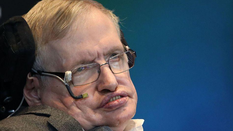Astrophysiker Stephen Hawking im Mai 2017