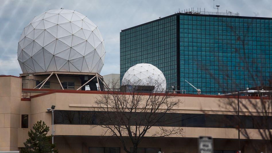 NSA-Zentrale im Bundesstaat Maryland: Umfangreiche Abhöraktionen