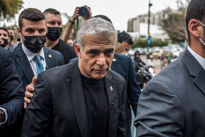 Liberaler Parteichef Lapid: Hoffnung auf ein Manöver, mit dem Netanyahu gescheitert war