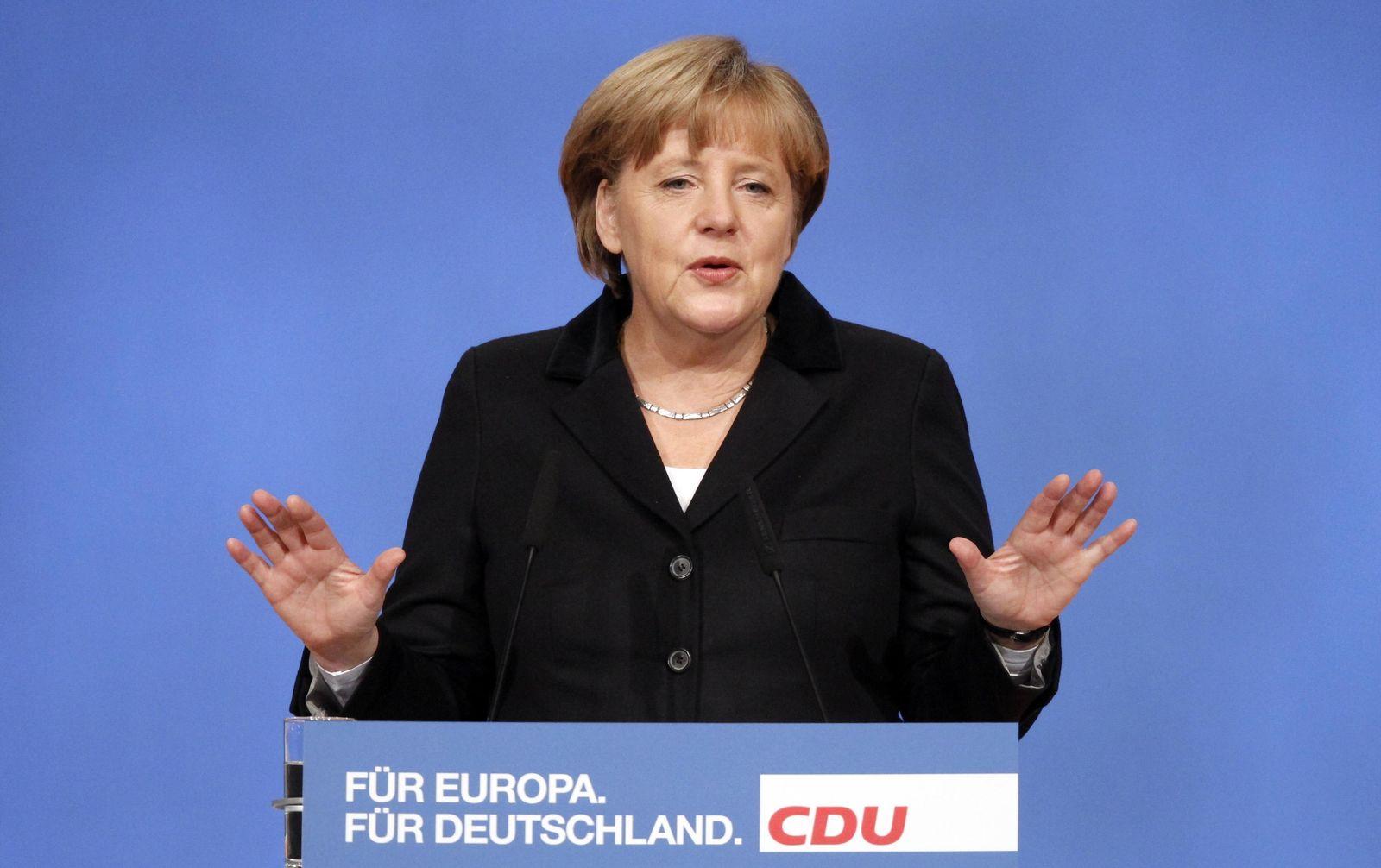 Merkel / Parteitag