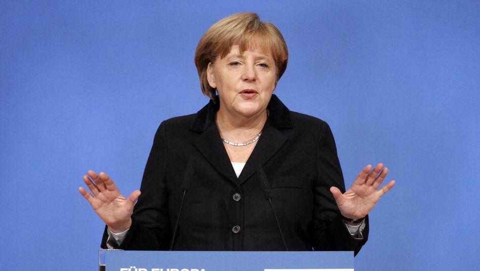 "CDU-Chefin Merkel: Terror von rechts ""beschämend"""