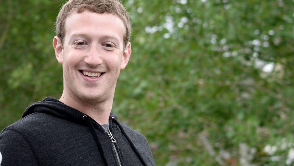 Unternehmer Zuckerberg: Ruhe vor den Nachbarn