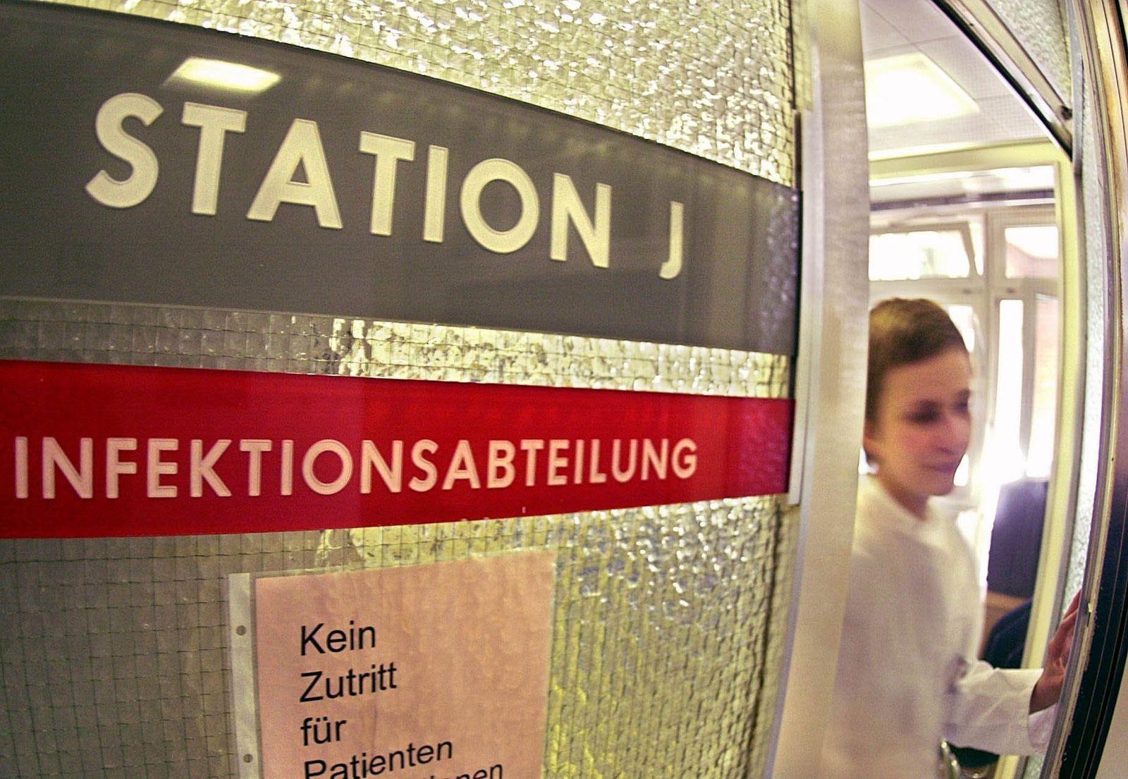 Verdachtsfall von SARS in Hamburg