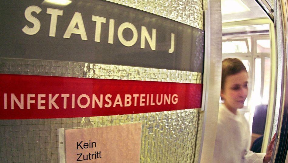 Infektionsabteilung des Bernhard-Nocht-Instituts in Hamburg (Archivfoto)