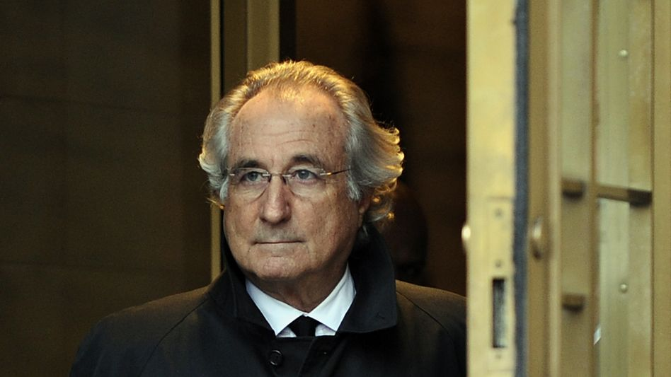 Bernard Madoff im Jahr 2009