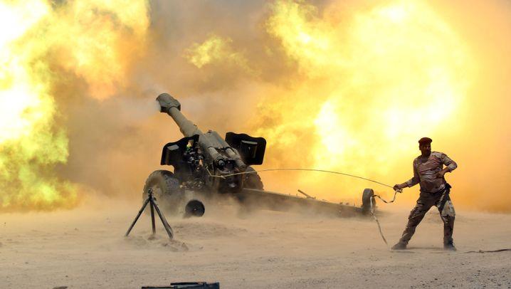 Kampf um die IS-Hochburg: Falludscha unter Feuer