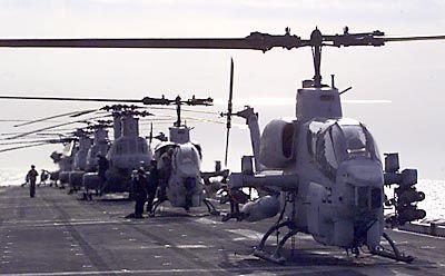 Kampfhubschrauber AH-1W Cobra