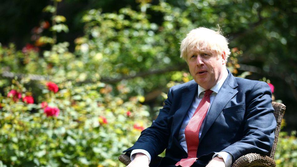 Will den Russland-Report schnell vergessen: Premier Johnson