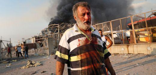 Beirut: Bilder der Zerstörung nach den verheerenden Explosionen