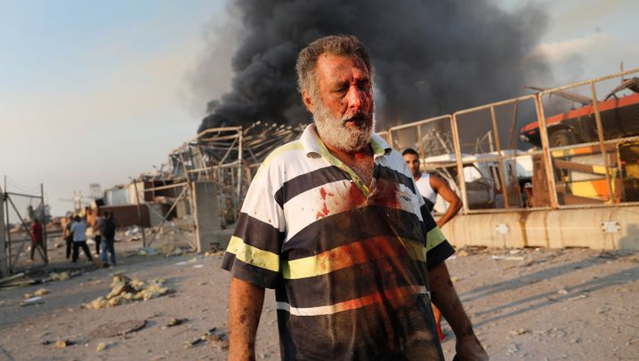 Die Katastrophe von Beirut