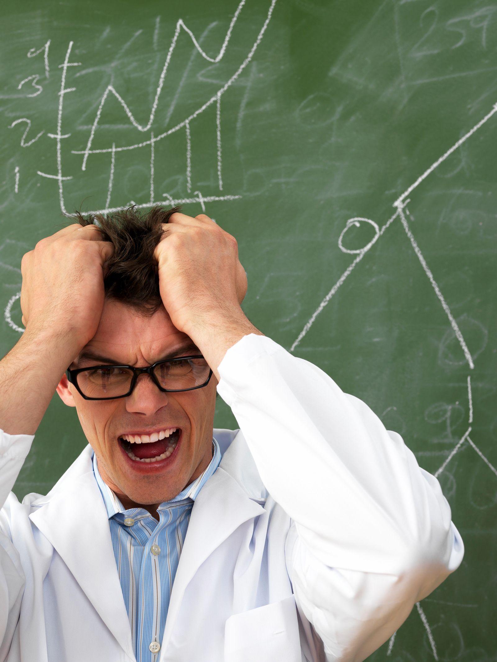 NICHT MEHR VERWENDEN! - Lehrer / gestresst / verzweifelt / genervt